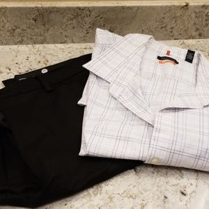 Men's outfit. Pants and Shirt